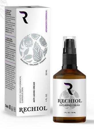 La crema regeneradora rechiol revisa la composición de la farmacia.